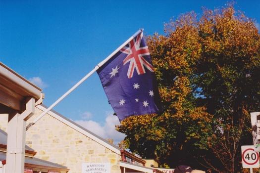 Adelaide-Street-Photography---Adelaide-Hills-German-Hahndorf-Australian-Flag